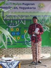 Poktan Ngudi Mulyo Pugeran wakili evaluasi Lumbung Mataraman tingkat DIY