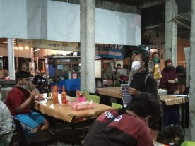 Edukasi dan Tindakan Tegas Guna  Kawal PPKM Darurat di kelurahan Suryadiningratan