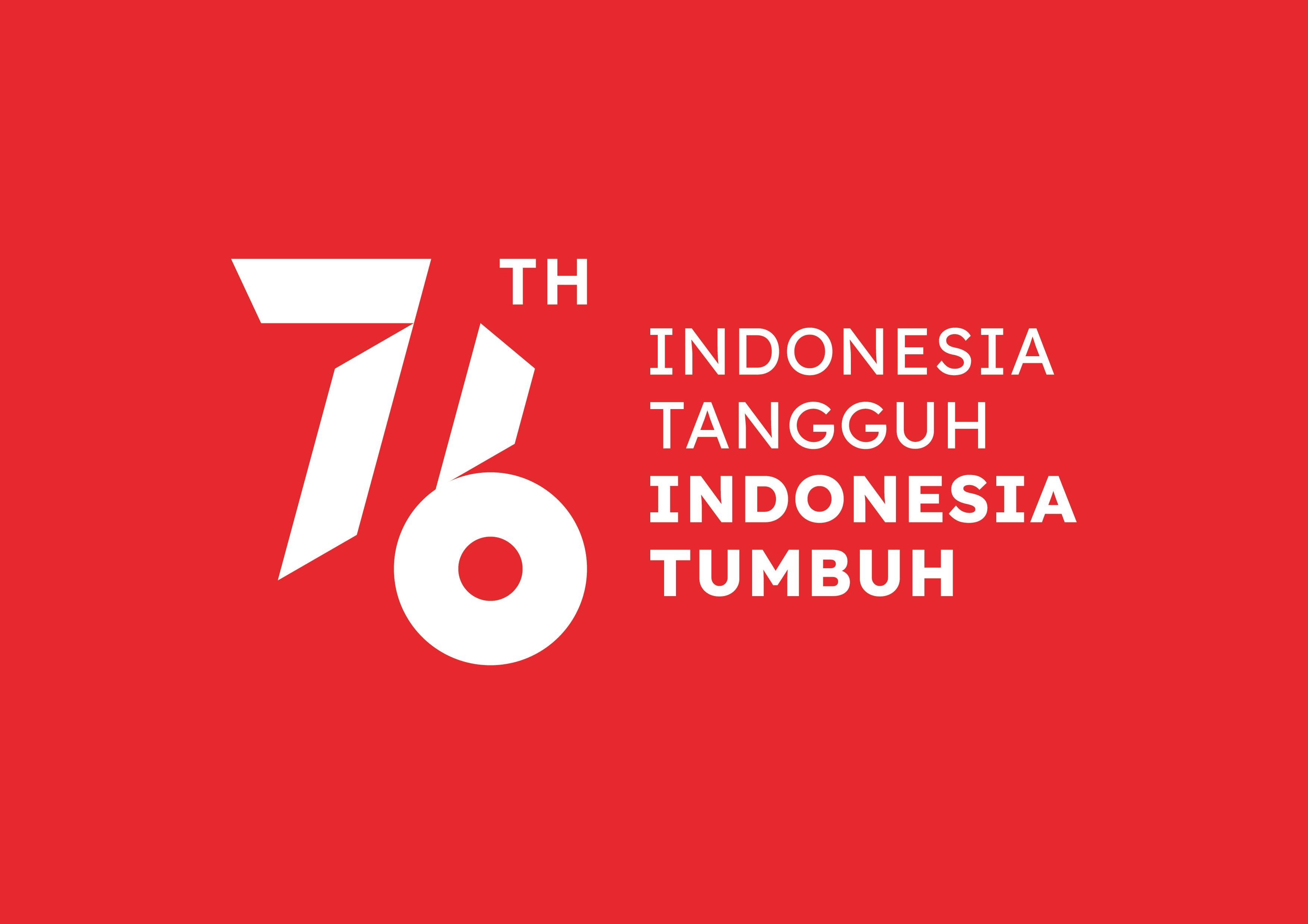 logo hut Kem RI ke 76
